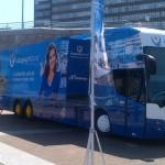 El Bus de la Alegría arranca de nuevo por España